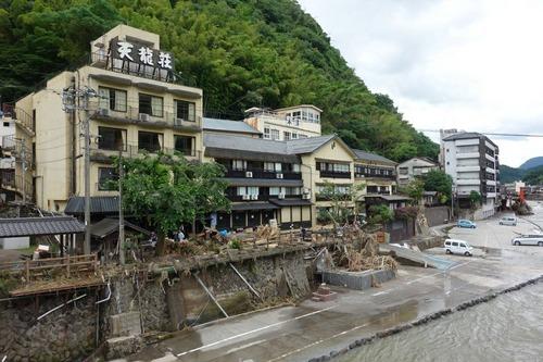 2020年7月13日(月)日田・天ヶ瀬地区の被災地支援報告 タカクラタカコさんより