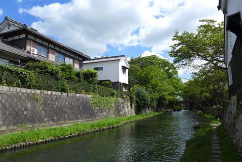 日本初の国選定重要文化的景観の「近江八幡の水郷」を踏査!