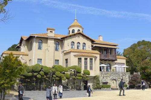 文化資源学会[第74回遠足 春が来た!神戸塩屋・昔と今が香る坂道]神戸、須磨、塩屋を訪ねました!その1ジェームズ山