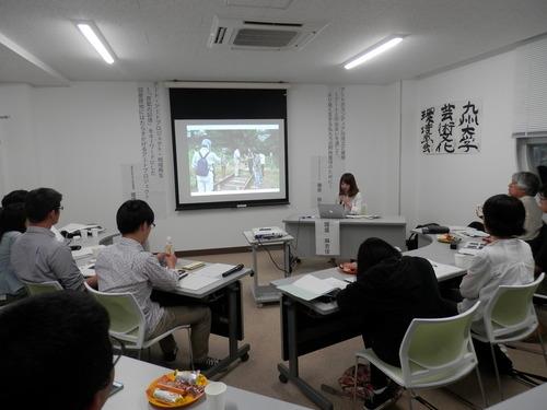九州大学芸術文化環境学会が開催されました!2014.5.23