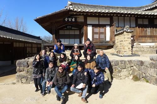 みなさま今年も一年間お世話になりました。ふ印ラボは恒例の釜山・国際市場で忘年会開催。そして慶州世界遺産踏査を敢行!sono1