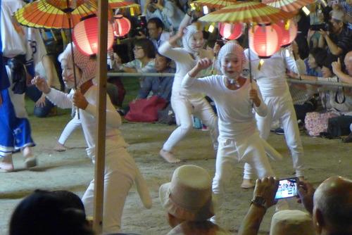 きつね踊り、たぬき踊り、大分県国東半島の姫島で盆踊りをたんのう!
