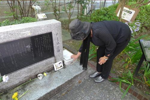 京都・同志社大学キャンパス尹東柱詩碑にて慰霊しました!