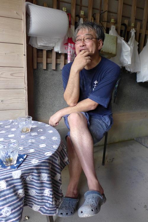 7月豪雨は大丈夫でしたか?坂本さん。小鹿田焼の里へ