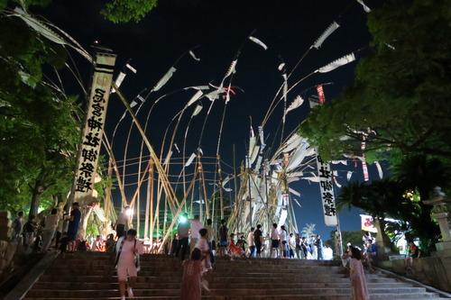 下関長府の数方庭祭(すほうていさい)8月7日~8月13日