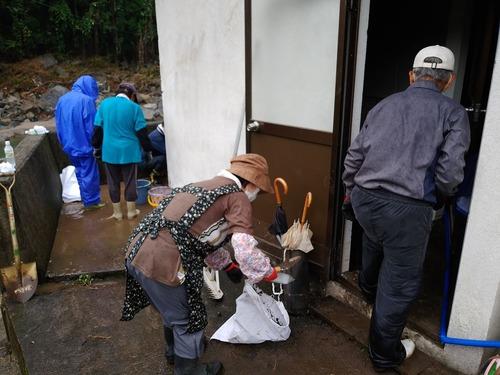 NPO法人リエラから日田市天ヶ瀬水害被災地支援の現況報告!ありがたいっ。陸続と情報発信!!