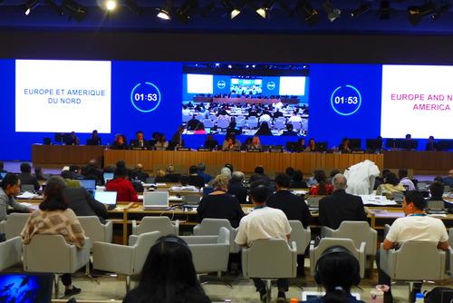 ふ印ボスは中東のバーレーン王国のマナーマで開催中のユネスコ世界遺産会議に出席!