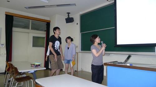 2012年7月27日(金)3時限目 学府「芸術・文化環境論」はブラウンフィールドからクリエイティブシティへ、という大胆な構想を訴えあって修了!