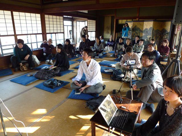 近代和風建築の料亭あをぎりで田川のまちづくりを考えるシンポジウム開催!