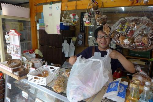 2020年7月19日(日)牛深町の吉永パンで朝食を!