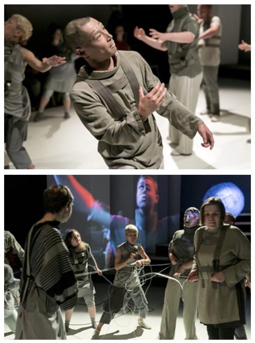ふ印ボスのドイツまち歩き便り Theater Thikwaのパフォーマンス作品観劇感激!