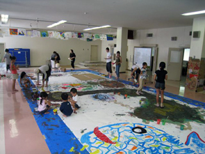 鬼塚淳子さんによるスティッグルアートワークショップ