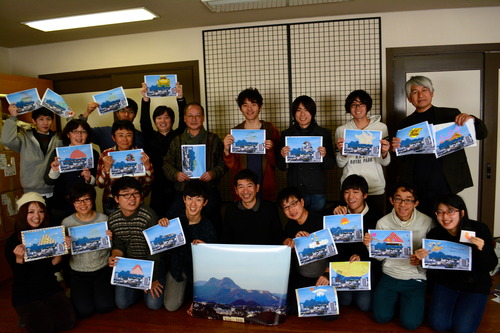 2月14〜15日(土日)田川市フィールドワークを開催します。15日午後は神戸芸術工科大学 谷口文保先生によるアートワークショップも開催!