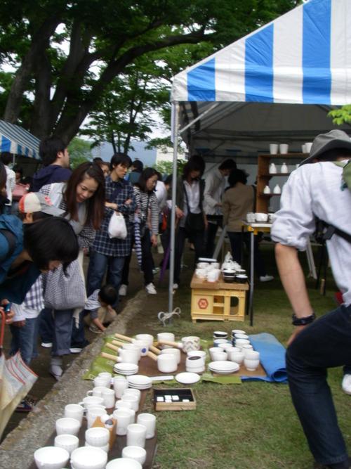 三浦浩子レポート 3 松本クラフトフェアと鹿児島アートマーケット
