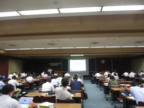 渡部幹雄先生と田北雅裕先生の授業を受けてきました。社会教育主事講習にて。2016.8.8(月)