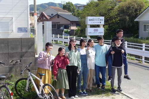 もう高校1年とは!?桧原シュタイナー土曜学校2期卒業生との春の同窓会!