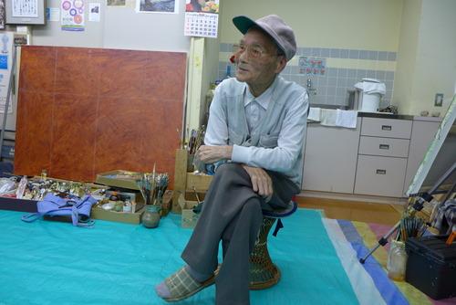 20190615ふ印ラボ熊本フィールドワーク、最初の目的地は菊池恵楓園再訪、吉山安彦さんご夫妻と面談しました。