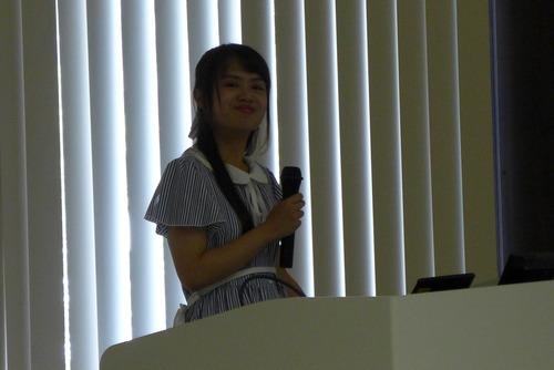 20190724香港大学不動産学部サーベイ学科からの短期留学生Connieさん、九州大学ISP発表!