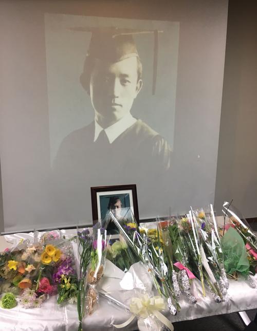 2月12日、厳寒の福岡にて「尹東柱詩人逝去73周年追悼式」が催されました。