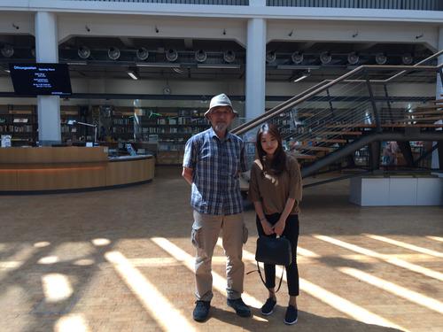 ドイツのカールスルーエで藤原先生にお会いできました!2017.6.22