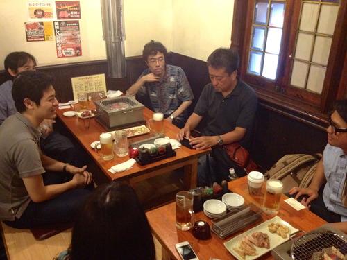 2012.7.7 johnくん再来日歓迎パーティー@東京三軒茶屋