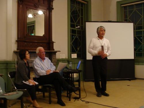 2011.9.16. 福岡アジア文化賞芸術・文化賞受賞者ニールズ・グッチョウ博士を囲む文化サロンに参加しました