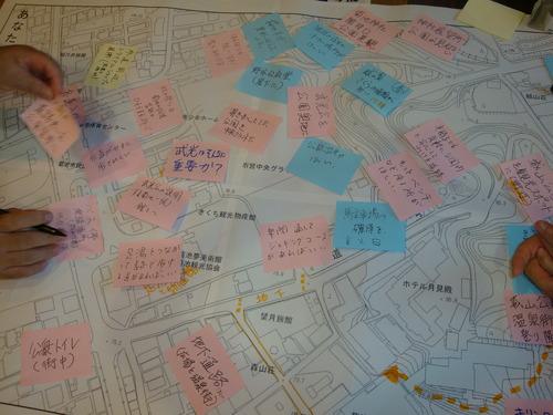 熊本県菊池市広場再整備ワークショップ第一回目2012.9.23