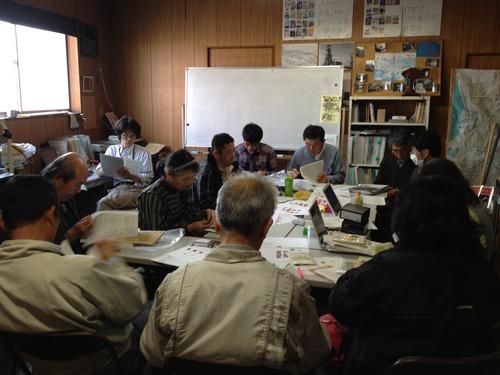 2012.4.14 NPO法人おおむた・荒尾炭鉱のまちファンクラブ定例会に参加しました