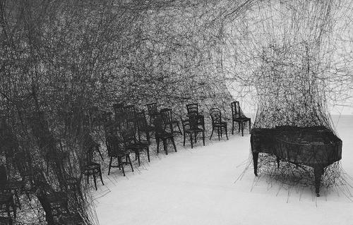 いよいよ塩田千春さんの展覧会が森美術館で開催!!!