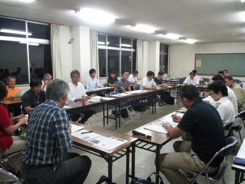 菊池市にて第2回「域学連携」地域づくり実行委員会が開催されました。2015.8.26(水)