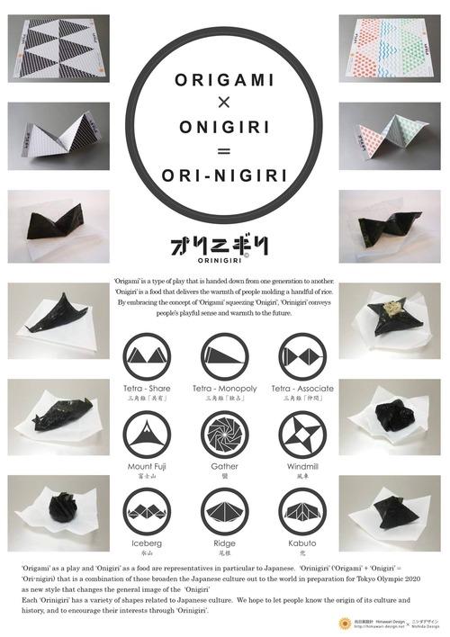 九州芸術工科大学工業設計学科OBのデザイナー新田知生さん、不思議なオリニギリ・デザインを発表!