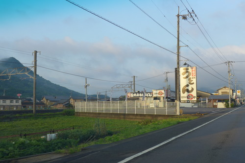 うどん県と名称を変えたかつての香川県にてソウルフードのうどん食べつつ路上観察!