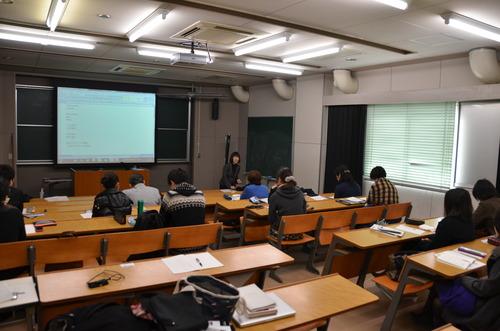 特別講義・稲葉信子教授『国際文化遺産保護法』が開講されました