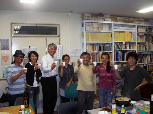 藤原惠洋研究室新人歓迎宴開催しました!