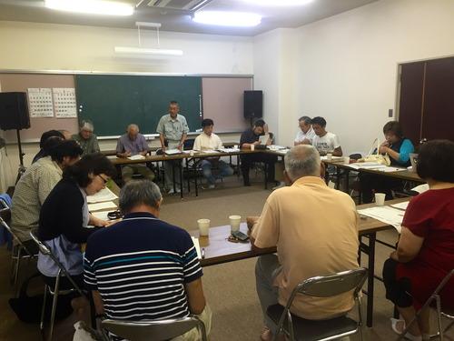 2016.7.23〜24九州大学社会連携事業「天草・下浦フィールドワーク2016」の準備を現地で行いました。