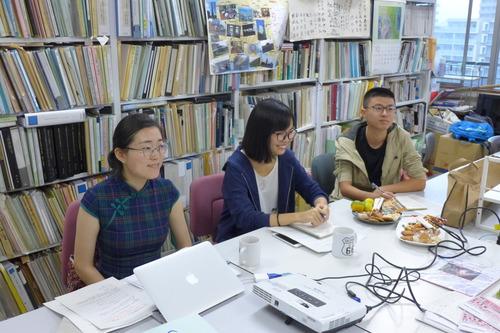 2017年後期よりふ印ラボに中国から研究生新人がおふたり登場!