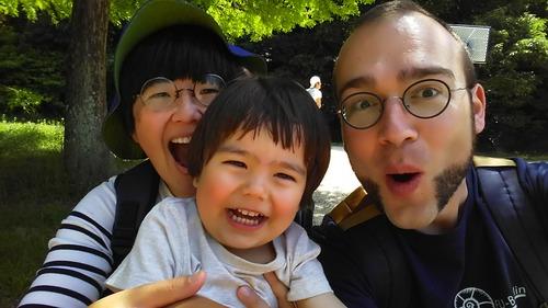Crischan Leipe博士と斎藤ナヲ子さんご家族が名古屋に移動しています!