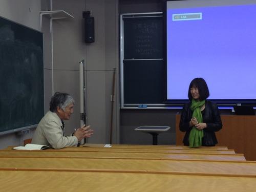 筑波大学大学院教授 稲葉信子先生による集中講義「国際文化遺産保護法」