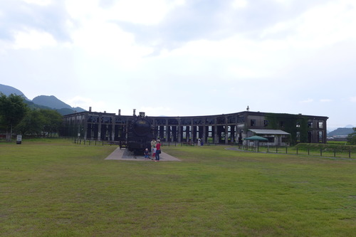 国登録有形文化財豊後森駅扇形機関車庫・転車台の近況!