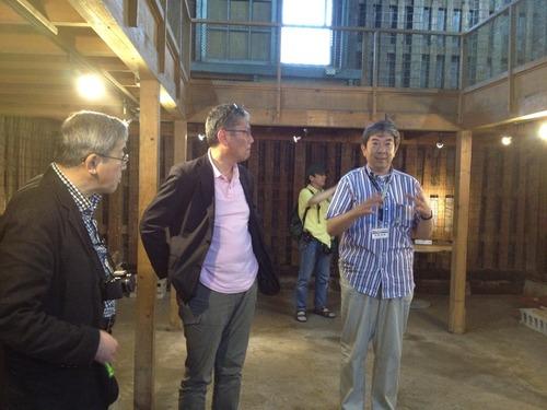 2012.7.8-7.12HOKKAIDO IN PROGRESS 川俣正さんのコールマイン三笠プロジェクトに参加してきました