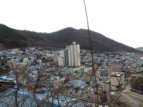 韓国・釜山市の甘川文化村を踏査しました!