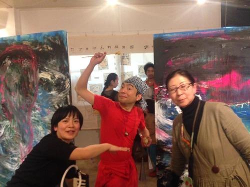日本を代表する体奏家で野口体操後継者のお一人新井英夫さん、半世紀誕生日!