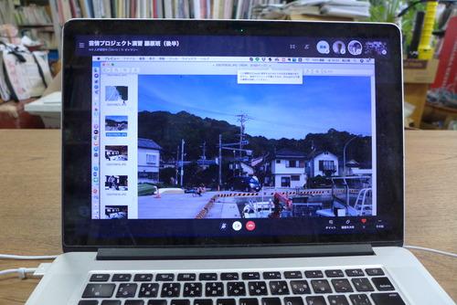2020年7月24日(金)10:30〜12:10芸術情報プロジェクト演習(遠隔)藤原班第4回調査!
