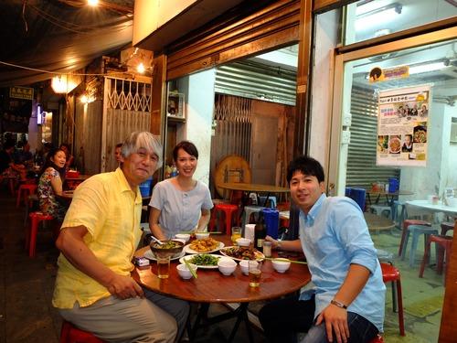 凄腕整体師の池田修さんとクィニーさんに香港で邂逅!
