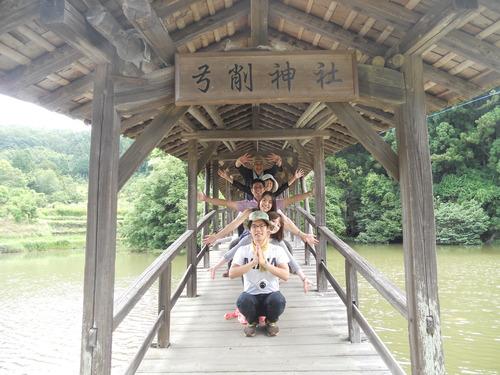 ふ印ラボは愛媛県内子町の山中に位置する弓削神社を訪問踏査。そこでの「千手観音」!