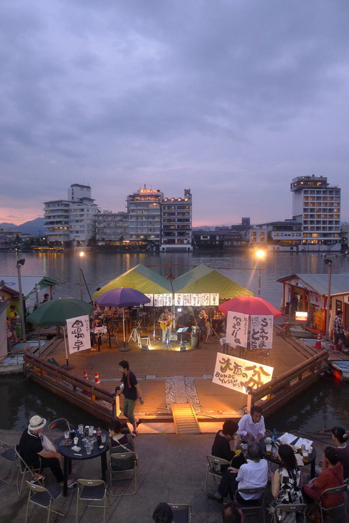 日田の「水面の盆」無事に開催しました!