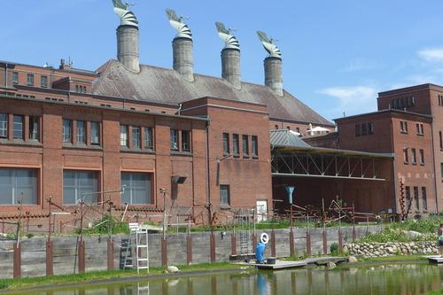ふ印ボスのドイツまち歩き便り 歴史的建造物がこうも活きていくとは!!創造拠点が町中に溢れている!