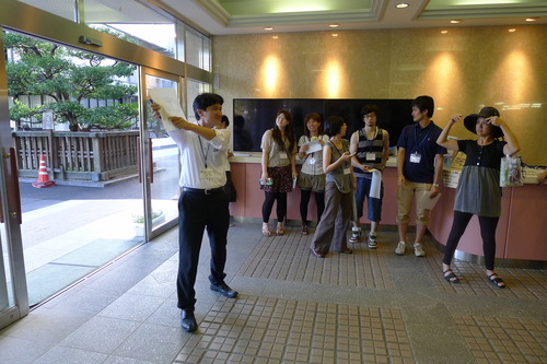 唐津の城内まち物語、わくわく物語る空間にぞっこん!