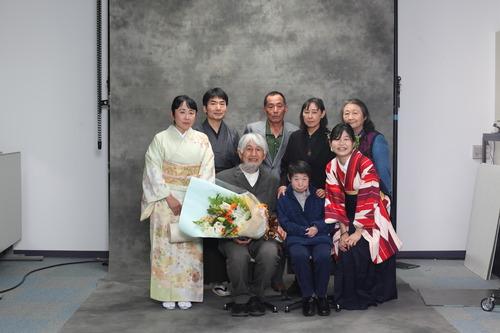 2021年3月24日、九州大学学位授与式に集いし藤原惠洋研究室〈ふ印ラボ〉記念写真!