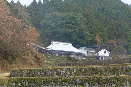 国選定重要文化的景観「小鹿田焼の里」池ノ鶴地区の素晴らしい棚田!